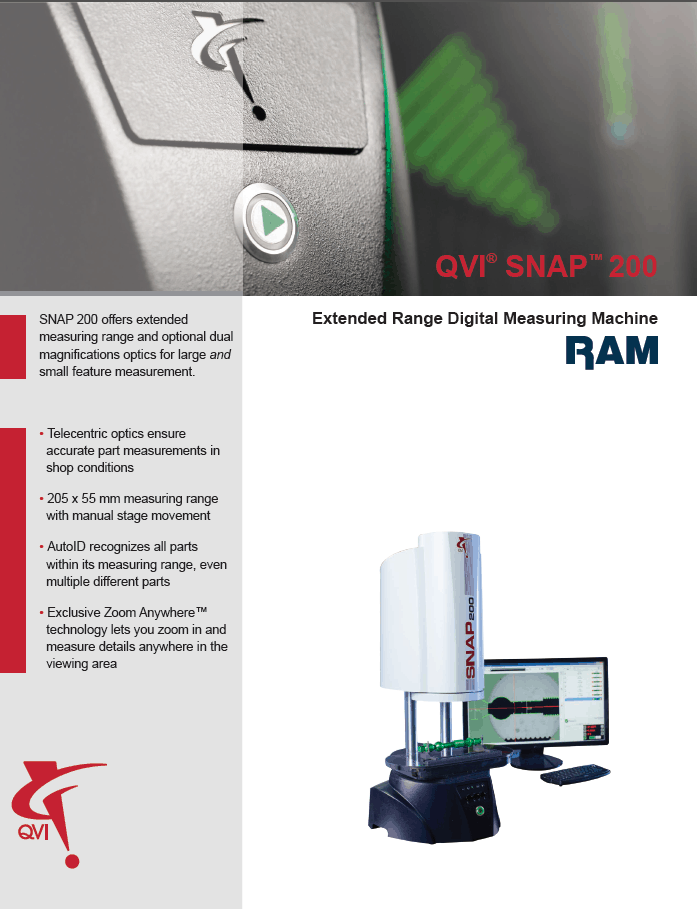 SNAP DM200 Datasheet